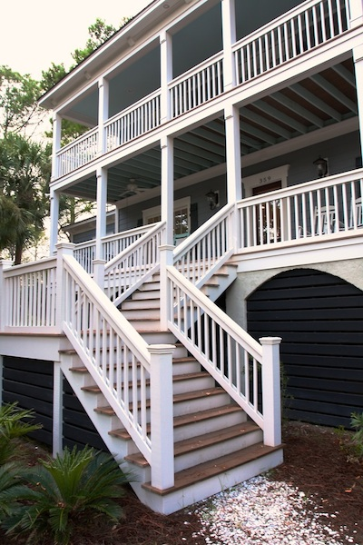 porches Downstairs and Upstairs